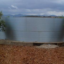 Balsas para almacenamiento de agua